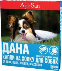 капли на холку дана для собак