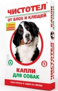 капли от блох чистотел для собак