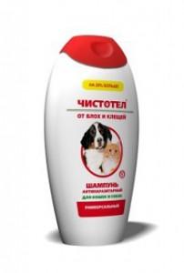 шампунь от клещей для собак