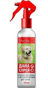 инсектицидный спрей дана для собак