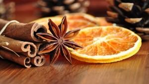 корица и апельсин
