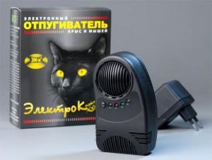 электронный отпугиватель мышей и крыс электрокот
